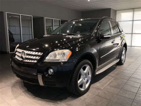 Pre-Owned 2008 Mercedes-Benz M-Class ML 550